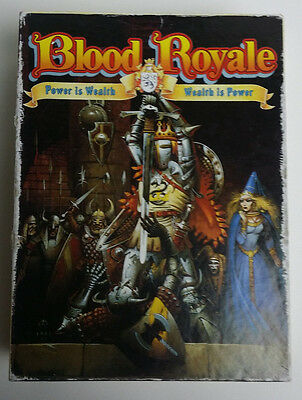 Blood Royale by Games Workshop. 1987. Spare parts.