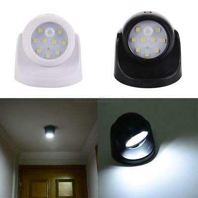 9 LED Motion Activated Sensor Wireless Security Light Wall Lamp Battery Power AU