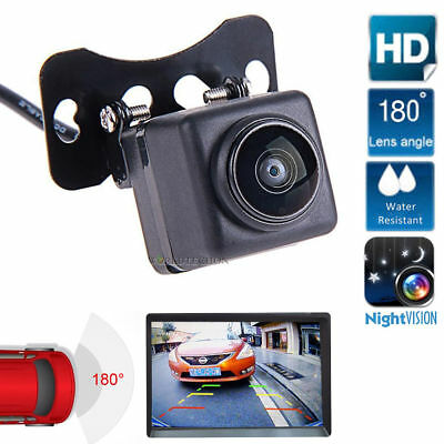 Car Rear View CCD 180° Night Vision Reverse Backup Parking Camera Waterproof NEW