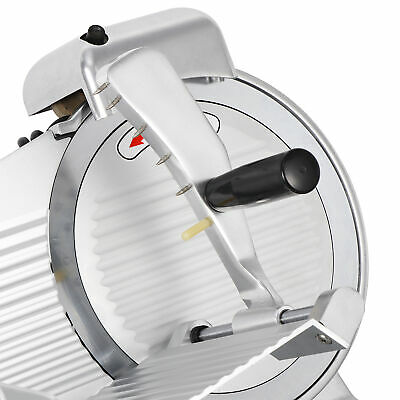 "NEW 240W 10"" Kitchen Deli Meat Slicer Electric 530RPM Cheese Food Slice Machine"