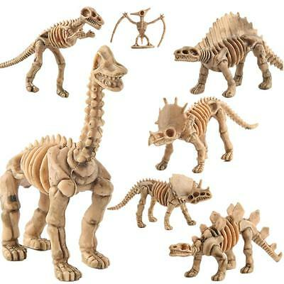12PCS Educational Simulated Dinosaur Model Kids Children Dinosaur Toys Gifts AU