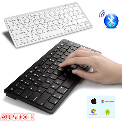 Ultra Slim Bluetooth Wireless Keyboard For Laptop/iPad/IOS/Android / iphone /Mac