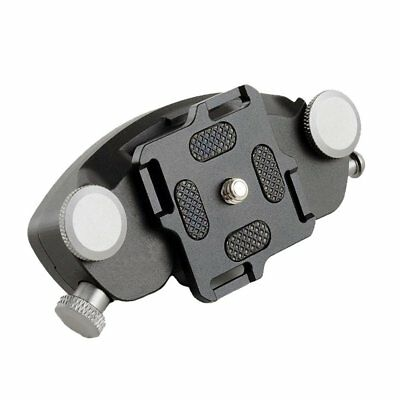 Waist Belt Strap Buckle Mount Clip Holster with Metal Quick Release for DSLR