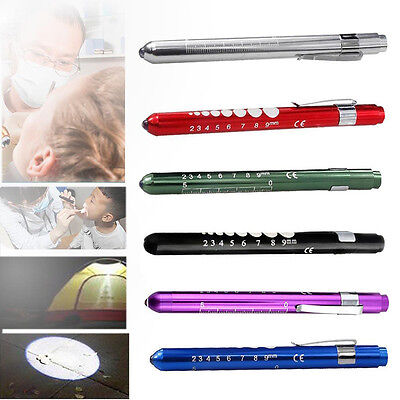 Medical First Aid LED Pen Light Flashlight Torch Doctor Nurse EMT Emergency Well