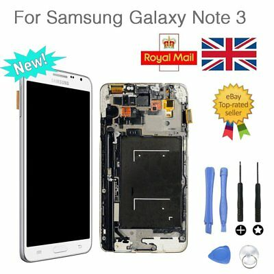 LCD Display Touch Screen Replacement White For Samsung Galaxy Note 3 N9005 AU