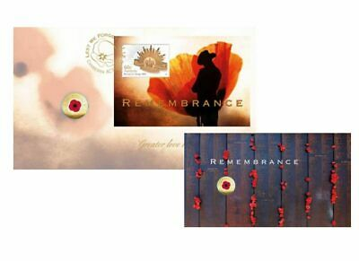 2012 $2 'C' Mintmark Remembrance Day Red Poppy UNC coin PNC-FDC SCARCE perfect