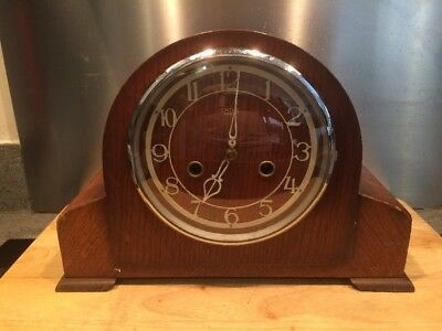Smiths Enfield Vintage Mantle Clock - Needs Attention