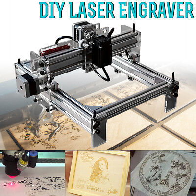200MW Mini DIY Laser Engraving Cutting Engraver Cutter Printer Machine 17*20cm