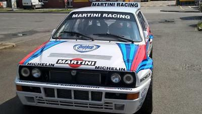 NEW BUILD Lancia Delta HILL CLIMB CAR!
