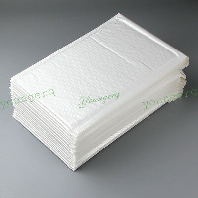 100/50/10 Poly Bubble Mailers Padded Envelopes 15 Sizes 4x8 6x10 6x9 8.5x11 4x6