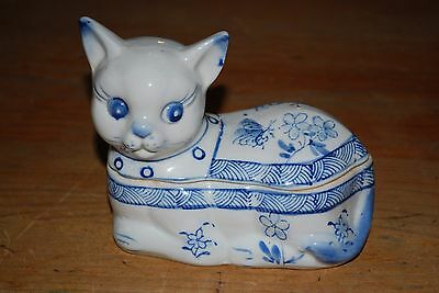 Cat Trinket Box.