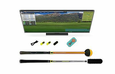 Tittle X Trugolf E6 Edition Premium Golf Simulator | For Home Computer PC Laptop