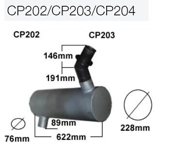 Caterpillar 312C 2004 Exhaust Elbow
