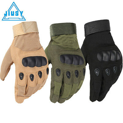 Tactical Airsoft Shooting Paintball Hunting Army Hard Knuckle Full Finger Gloves