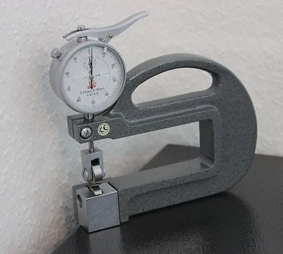 40142254 Double Side Wheels Thickness Measuring Gauge Caliper 0-10MM 0.01mm 100