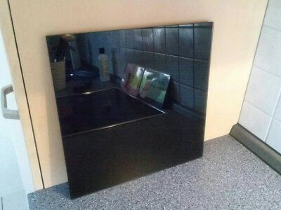 magnettafel aus glas glasmagnettafel schwarz memoboard pinnwand eur 8 00 picclick de. Black Bedroom Furniture Sets. Home Design Ideas