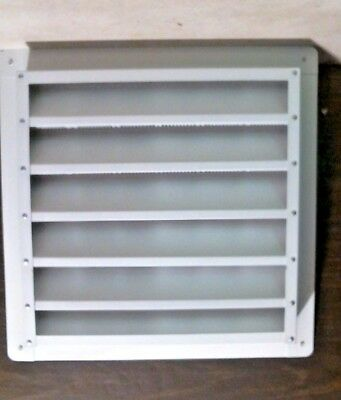 "Air Vent 81202 Aluminum Wall Louver, 12"" X 12"", White FREE SHIPPING"