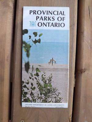 Provincial Parks Of Ontario Map Department Lands Forests Fees Seasons