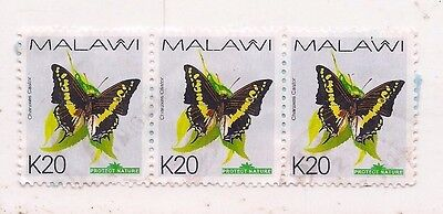 4 MALAWI stamps.