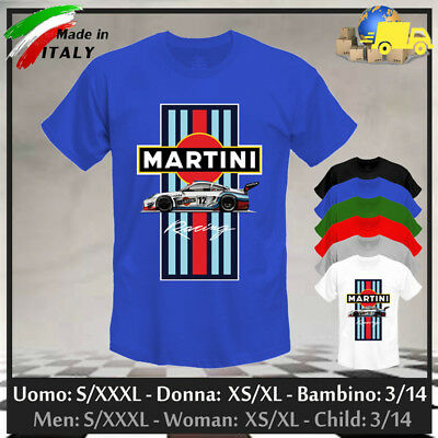 """T-shirt """"MARTINI RACING"""", Limited Edition Gulf GP Cup Race Steve, Collez. 2019!"""