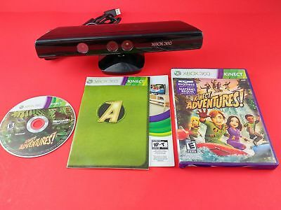 Microsoft Xbox 360 Kinect w/ Game Adventures [Official Original OEM] - Working