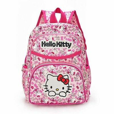 Quality Hello Kitty Pink Rose Backpack School Book Bag Girl S Child Travel Kids