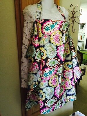 NURSING COVER Up Like HOOTER hider* BREASTFEEDING paisley cool colors