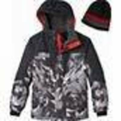 8e435712e NWT $135-Boys ZeroXposur Hooded Sky Diver Winter Snow Board Ski Jacket-sz 18