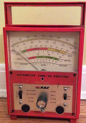 Rac Automotive Tune Up Analyzer Vintage