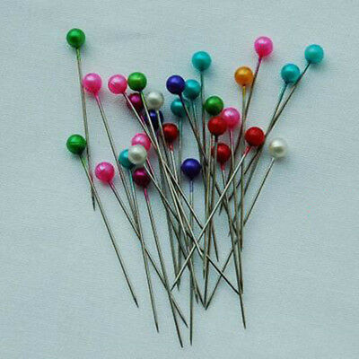 Round Pearl Head Dressmaking Pins Weddings Corsage Florists Sewing Pin