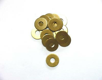 Washers large 10,5 / 13mm Brass , DIN 9021 , Washer
