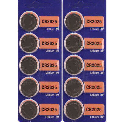 5Pcs Sale Coin Button Battery For SONY 2025 3v CR2025 CR Watch Set Useful