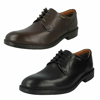 3dff54d5 MENS CLARKS LEATHER Lace Up Smart Formal Office Shoes Size Chilverwalk Gtx