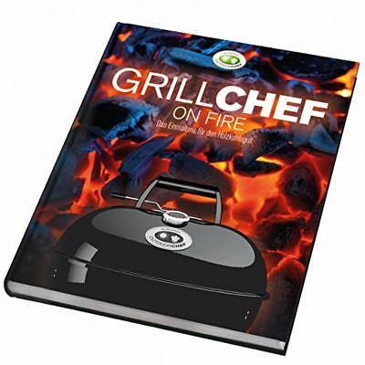 """(TG. 22x1.9x25.4 cm) 'Outdoorchef Grill Koch libro Chef Charcoal """"On Fire, multi"""