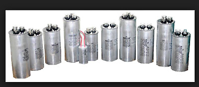 Motor Run Capacitor 1, 1.5, 2.5, 3, 4, 5, 6, 7, 8, 10, 12.5, 14, 16, 20uF  440Vo