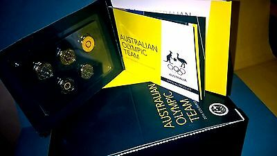 2016 $2 ROYAL AUSTRALIAN MINT set of 5  Olympic coloured coins SOLD OUT AT RAM