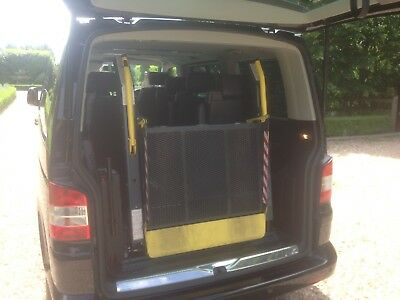 Ricon Wheelchair Tail Lift, Disability, Mobility  From a T5 Caravelle