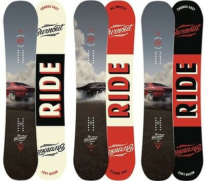Ride Snowboards - Burnout All Mountain Freestyle mit Hybrid Camber - 2016