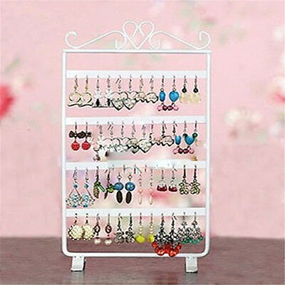 Local 48 Holes Earring Hanging Rack Jewelry Organizer Holder Metal Display Stand