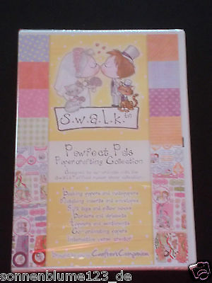 Crafters Companion Swalk Pawfect Pals Papercrafting Collection -  1 CD NEU/OVP