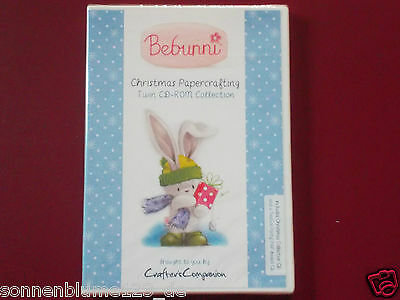 Crafters Companion Bebunni Christmas 2 CD-ROMs Collection NEU/OVP