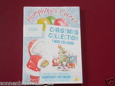 Crafters Companion Humphreys Corner Christmas 2 CD-ROMs Collection NEU/OVP