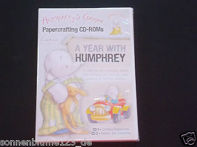 Crafters Companion Humphreys Corner A Year with Humphrey -  2 CD-ROMs NEU/OVP