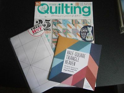 Love Patchwork & Quilting Magazine Issue 25 With Free Gifts (new) 2015