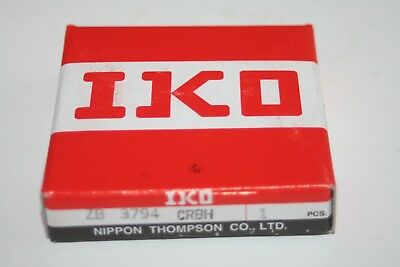 IKO Nippon Thompson ZB 3794 CRBH Crossed Roller Bearing / CRBS 50 (50X66X8)  NEW