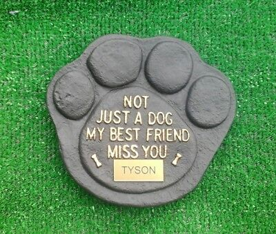 Dog Large Pet Memorial/headstone/stone/grave marker/memorial laser plaque