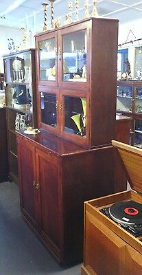 Edwardian palour cupbroad and cabinet