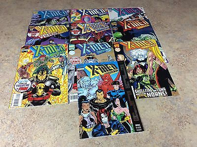 X-Men 2099 #16,17,18,19,20,21,22,23,24,25 Lot Of 10 Comic Nm 1995 Marvel