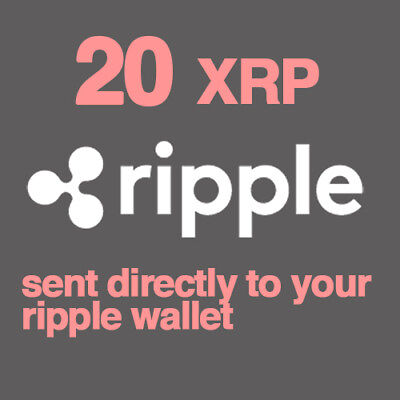 20 Ripple Coin (XRP) CryptoCurrency direct! --- USA Seller --- Cheapest XRP