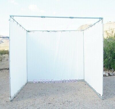 "10' x 10' SUKKAH KIT 1"" fittings COMPLETE without Pipe - Sukkot ** Free Ship **"